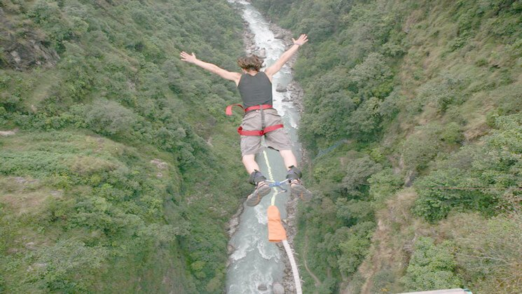Bungee Jumping Price in last resort for Nepali