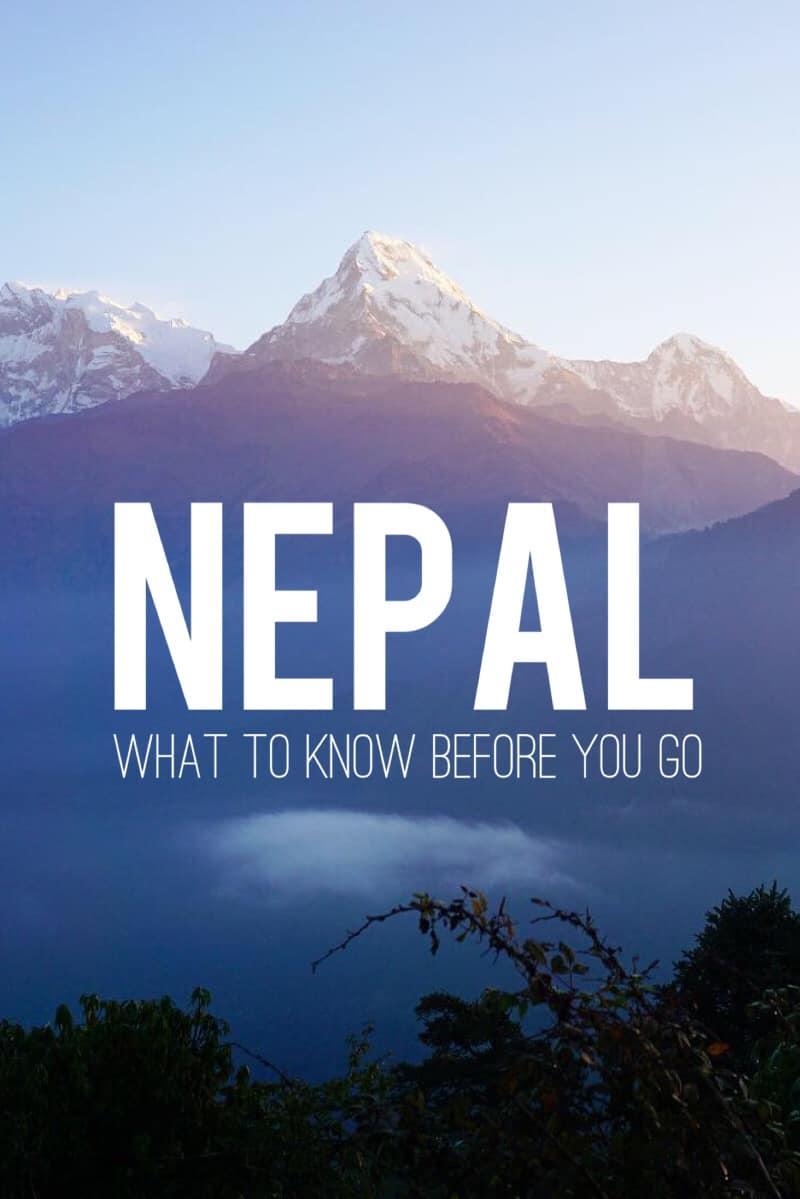 before visit in Nepal