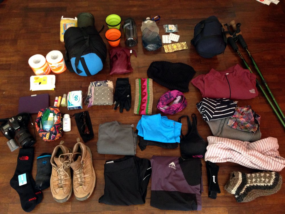 Packing List for Poonhill - Ghandruk Trek