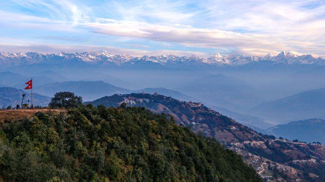 short trek in Nepal