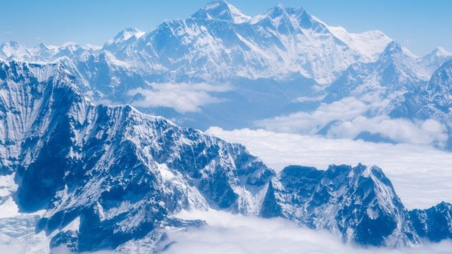 Everest Base Camp altitude, distance