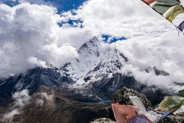Everest Base Camp in February