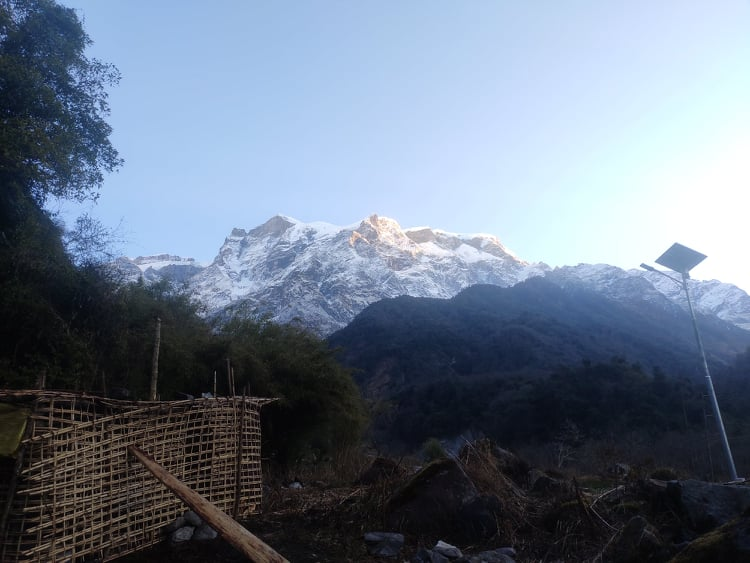 Kapuche lake Nepal